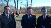 Визит губернатора в Центральный парк, Фото: 6