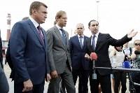 В Туле министр промышленности и торговли РФ  осмотрел  стройплощадку ООО «Тулачермет-Сталь», Фото: 4