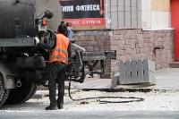 Ремонт улицы Оборонной в Туле, Фото: 8