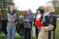В Узловой установили памятник на могиле считавшегося пропавшим без вести летчика-героя, Фото: 1