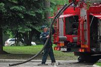 Учения МЧС: В Тульской областной больнице из-за пожара эвакуировали больных и персонал, Фото: 22