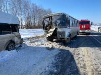 В Тульской области в ДТП с автобусом и маршруткой пострадали несколько человек, Фото: 1