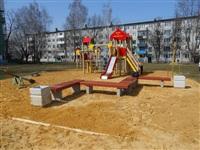 В Тульской области продолжают устанавливать детские площадки, Фото: 3