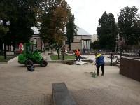 Завершается ремонт фонтана у драмтеатра, Фото: 2
