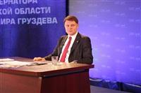 Разговор с губернатором Тульской области Владимиром Груздевым, Фото: 1
