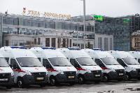 Алексей Дюмин передал региональному Центру медицины катастроф 39 новых автомобилей, Фото: 20