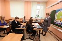 Встреча губернатора с учителями 11 гимназии, Фото: 2