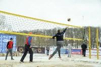Турнир Tula Open по пляжному волейболу на снегу, Фото: 15