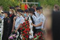 Жуткое ДТП в Суворове: проститься с погибшим полицейским пришли сотни человек, Фото: 11