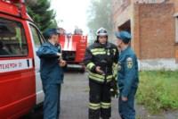 В Скуратово загорелось заброшенное училище, Фото: 9