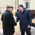 Церемония вручения ключей от новых квартир переселенцам из аварийного жилья в Узловой, Фото: 13