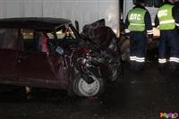 Под Тулой столкнулись грузовой Mercedes и «семерка», Фото: 8