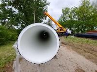 В Туле меняют аварийный участок трубы, из-за которого отключали воду в Пролетарском округе, Фото: 24
