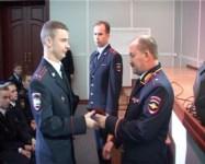 Вручение удостоверений новым сотрудникам полиции, Фото: 3