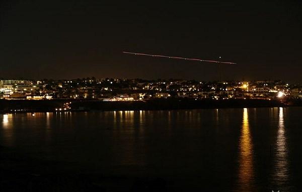 посадка НЛО на побережье