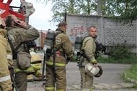 Пожар в бывшем профессиональном училище, Фото: 4