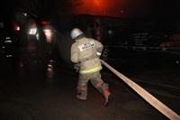 На ул. Оборонной в Туле сгорел магазин., Фото: 3