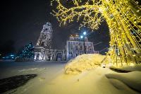 В Туле ночью бушевал буран, Фото: 28