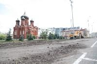 Дорога и парковка к Дворцу бракосочетания, Фото: 4