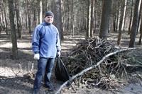 Субботник в Комсомольском парке с Владимиром Груздевым, 11.04.2014, Фото: 32