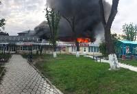 """Сгорел рынок """"Салют"""", Фото: 29"""