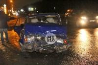 В Туле напротив кладбища «семерка» протаранила учебный Renault, Фото: 2