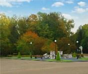 В Центральном парке появятся разноцветные самовары и зеленый лабиринт, Фото: 1
