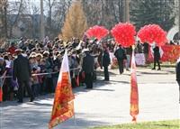 Первый этап эстафеты олимпийского огня: Пролетарский район, Фото: 24
