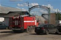 Пожар на хлебоприемном предприятии в Плавске., Фото: 34