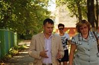 Денис Бычков проверяет школы Тульской области, Фото: 4