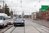На ул. Советской в Туле убрали дорожные ограждения с трамвайных путей, Фото: 11