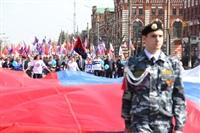 Тульская Федерация профсоюзов провела митинг и первомайское шествие. 1.05.2014, Фото: 46