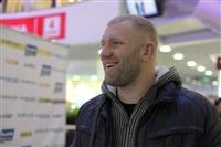 Бойцы М-1 провели открытую пресс-конференцию и встретились с фанатами, Фото: 2