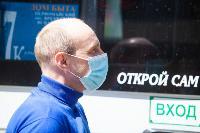 Полицейский рейд в тульских маршрутках: на пассажиров без масок составляют протоколы, Фото: 38