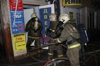 На ул. Оборонной в Туле сгорел магазин., Фото: 12