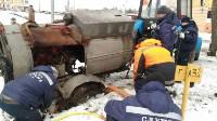 """В Туле вмерзла в лед """"Лада"""", Фото: 15"""