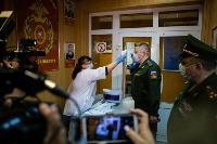Экспресс-тест на covid-19, маски и социальная дистанция: В Туле первых призывников отправили в армию, Фото: 6