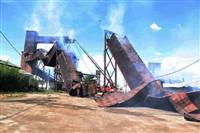 Пожар на хлебоприемном предприятии в Плавске., Фото: 14