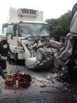 Страшная авария на М-2 в Плавском районе, Фото: 2