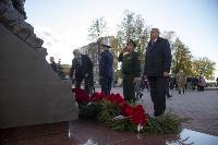 В Туле открыли памятник экипажу танка Т-34, Фото: 40