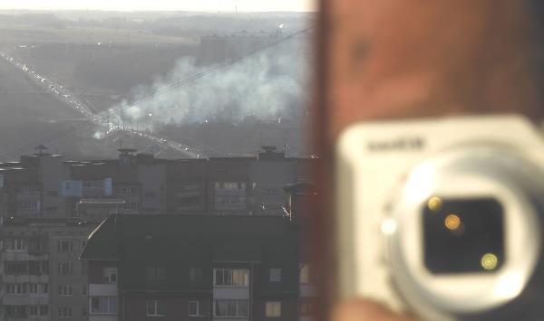 Дым над дорогой