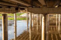 Уровень воды в Упе поднялся более чем на метр , Фото: 1