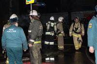 На ул. Оборонной в Туле сгорел магазин., Фото: 29