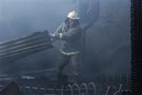 Пожар на хлебоприемном предприятии в Плавске., Фото: 19