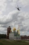 Установка шпиля на колокольню Тульского кремля, Фото: 33