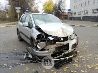 В ДТП на ул. Тургеневской в Туле пострадал один человек, Фото: 2