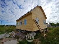 В Плеханово вновь сносят незаконные дома цыган, Фото: 3