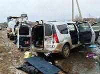 В страшном ДТП под Тулой погибли два человека, Фото: 11