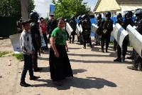 В Плеханово начали сносить дома в цыганском таборе, Фото: 111