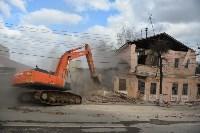 Снос аварийного дома на улице Октябрьской, Фото: 9